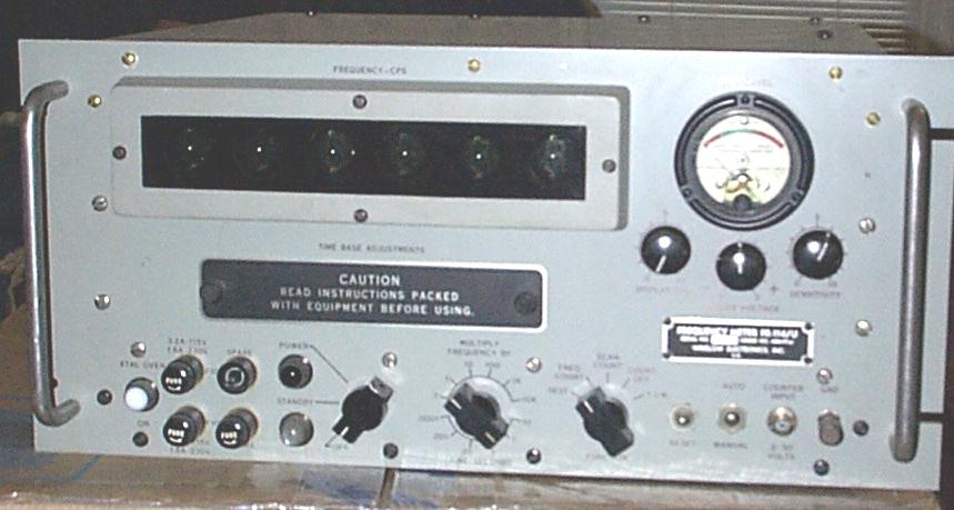 Radio Shack Frequency Counter : Documents wanted