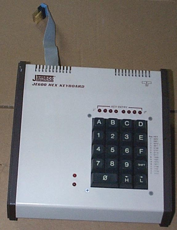 Jameco JE600 Hex Keyboard