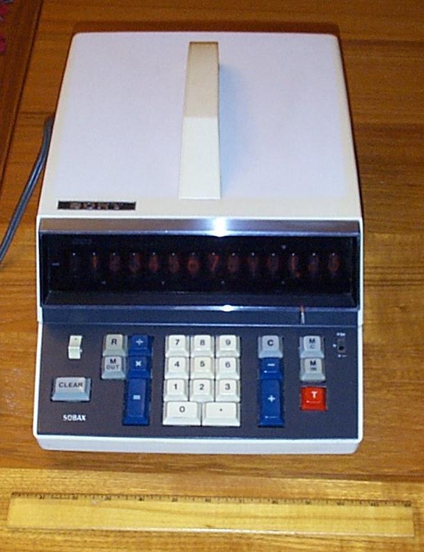 Sony Sobax ICC-500W Calculator
